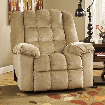 Harloe Manual Rocker Recliner Upholstery: Sand
