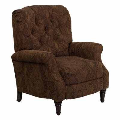 Buckner Manual Recliner With Ottoman