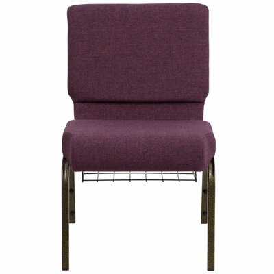 Taylor Extra Wide Guest Chair Seat Color: Plum