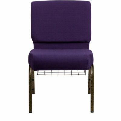 Taylor Extra Wide Guest Chair Seat Color: Purple