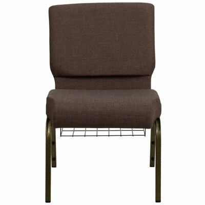Taylor Extra Wide Guest Chair Seat Color: Brown
