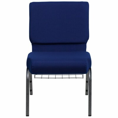 Taylor Extra Wide Guest Chair Seat Color: Blue