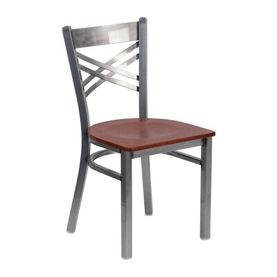 Anissa Dining Chair Color: Cherry