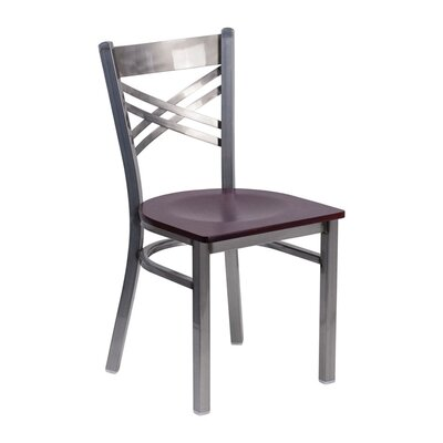 Anissa Dining Chair Color: Mahogany