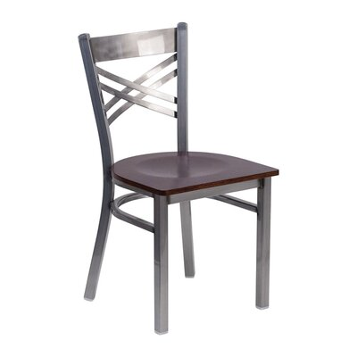 Anissa Dining Chair Color: Walnut