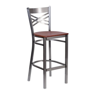 Anissa 9 Bar Stool Finish: Cherry