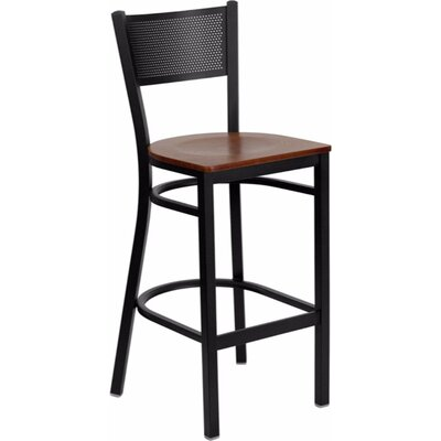 Dryden 28.5 Bar Stool Finish: Cherry