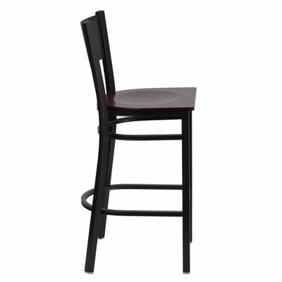 Dryden 28.5 Bar Stool Finish: Mahogany