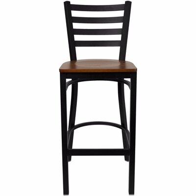Dryden 32 Bar Stool Finish: Cherry