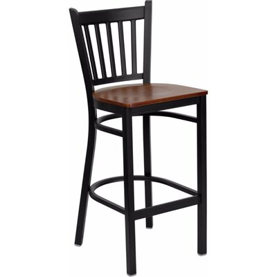 Dryden 28.75 Bar Stool Finish: Cherry