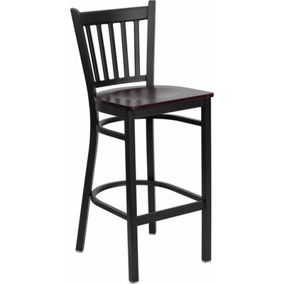 Dryden 28.75 Bar Stool Finish: Mahogany