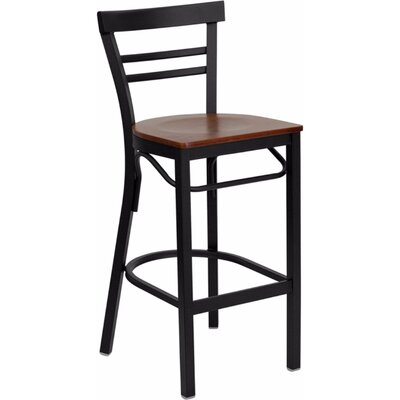 Dryden 29 Bar Stool Finish: Cherry