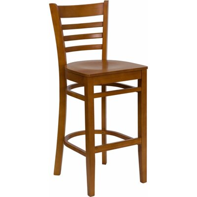 Dryden 29.25 Bar Stool Finish: Cherry