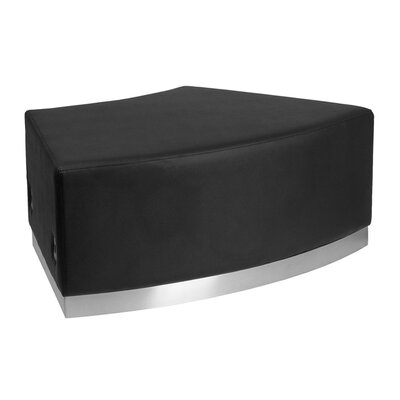Acord Lounge Chair Ottoman Upholstery Color: Black