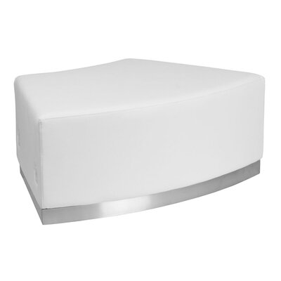 Acord Lounge Chair Ottoman Upholstery Color: White