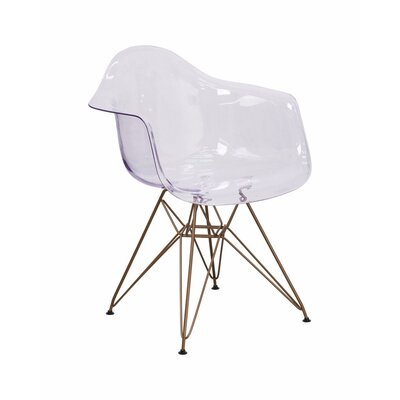 Cambell Transparent Arm Chair