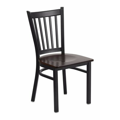Duprey Dining Chair Color: Walnut Wood