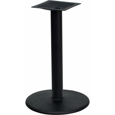 24 Round Restaurant Table Base with 4 Dia Bar Height Column