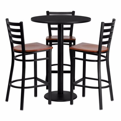 Philbrook 4 Piece Pub Table Set