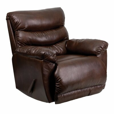 Posen Leather Rocker Recliner