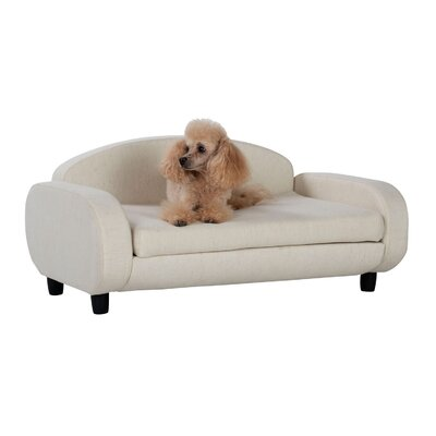Karlov Pet Sofa Bed Color: Oatmeal