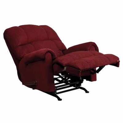 Stockard Contemporary Tahoe Chenille Rocker Recliner