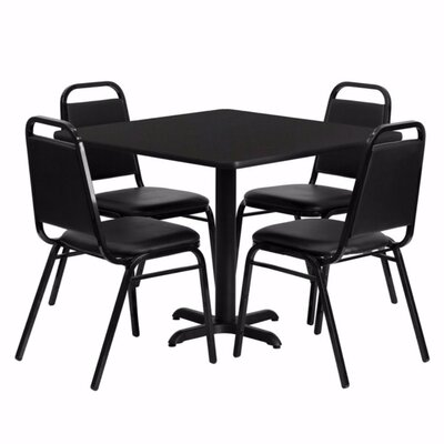 Uriah 5 Piece Dining Set