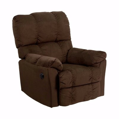Heinrich Power Recliner Color: Brown