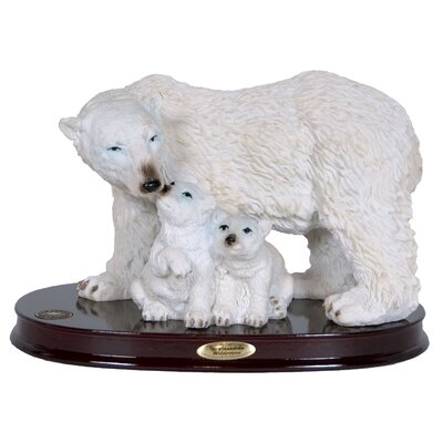 Polar Bear and Cubs Figurine 95906