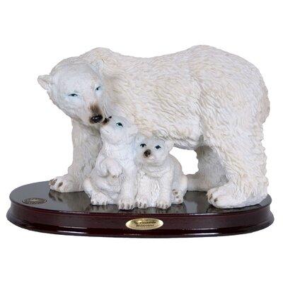 Nordman Polar Bear and Cubs Figurine 589450C477964DE3988055830B6FE8FE