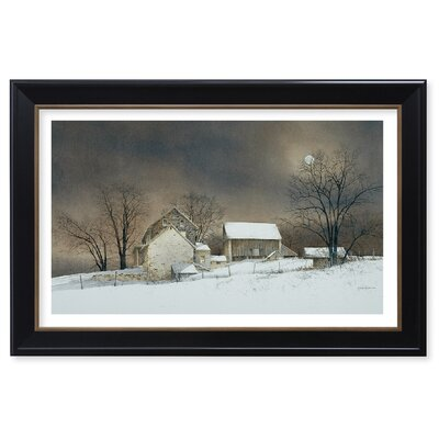 New Moon by Ray Hendershot Framed Graphic Art P228