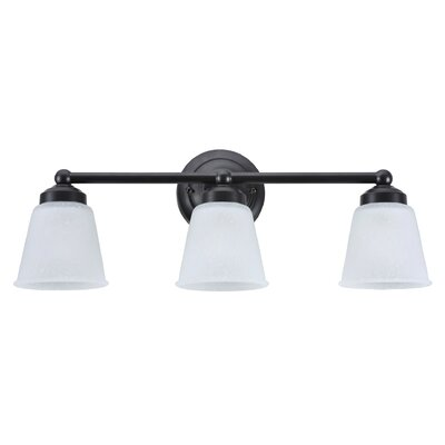 3-Light Vanity Light Finish: Bronze