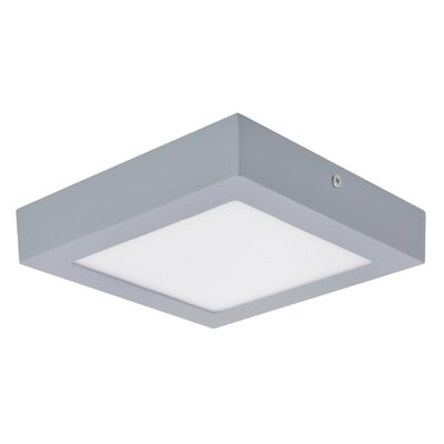 Flush Mount Base Finish: Silver