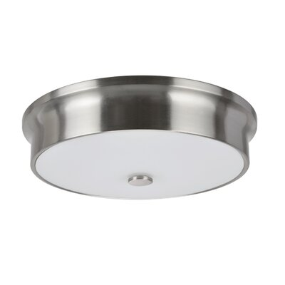 LED Flush Mount Base Finish: Satin Nickel