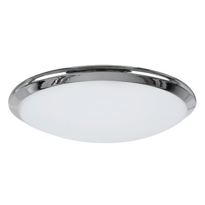 LED Flush Mount Base Finish: Chrome