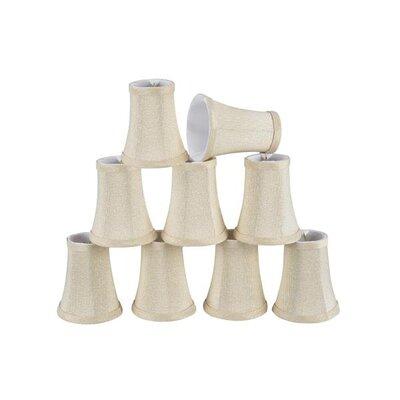 4 Fabric Bell Candelabra Shade