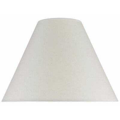 16 Cotton Empire Lamp Shade Color: Ivory