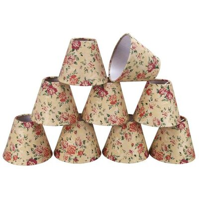 6 Fabric Empire Candelabra Shade
