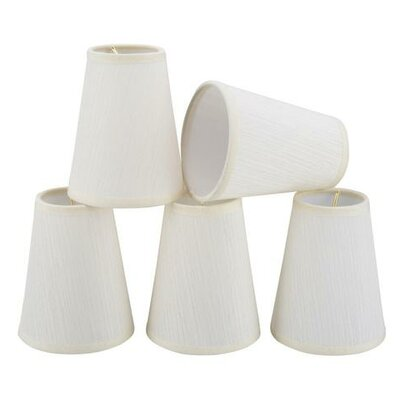 4 Fabric Empire Candelabra Shade
