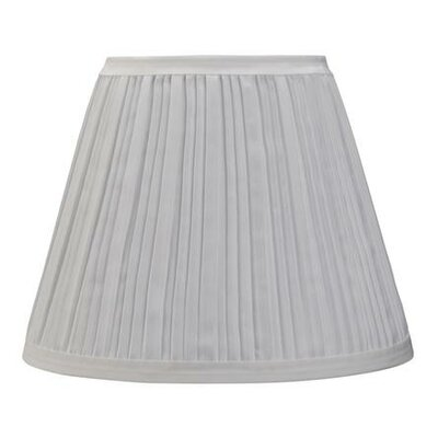 9 Cotton Empire Lamp Shade Color: Off White