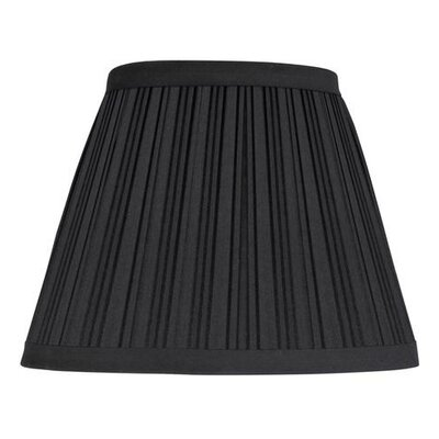 9 Cotton Empire Lamp Shade Color: Black