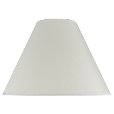16 Cotton Empire Lamp Shade Color: Off White