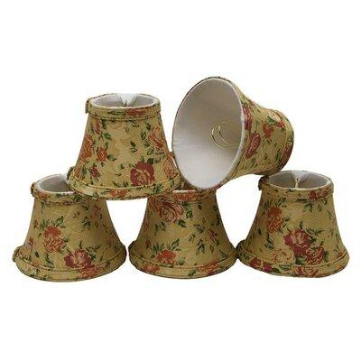 5 Fabric Bell Candelabra Shade
