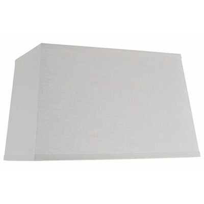 16 Linen Rectangular Lamp Shade