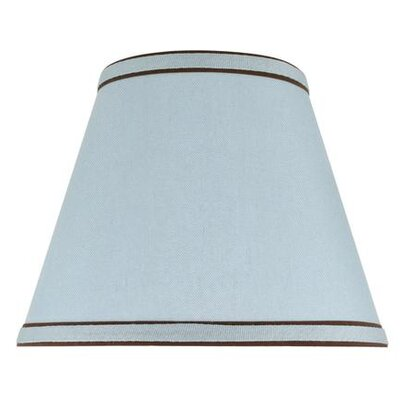 9 Linen Empire Lamp Shade Color: Light Blue