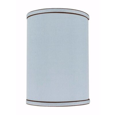 8 Linen Drum Lamp Shade Color: Light Blue