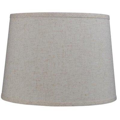 14 Linen Empire Lamp Shade Color: Beige