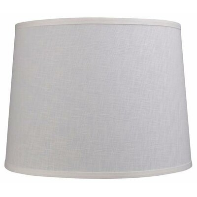 16 Linen Empire Lamp Shade Color: Off White