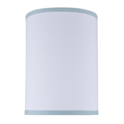 8 Linen Drum Lamp Shade