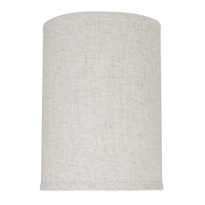 8 Linen Drum Lamp Shade Color: Flaxen
